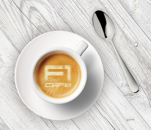 f1cafe, take away coffee
