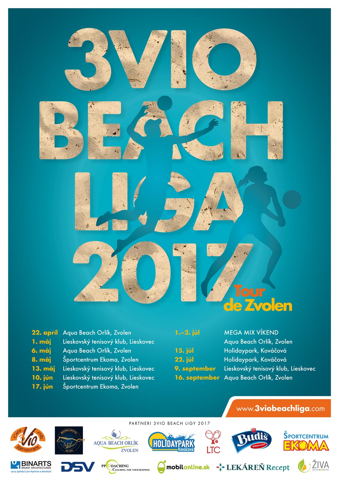 3Vio Beach Liga 2017