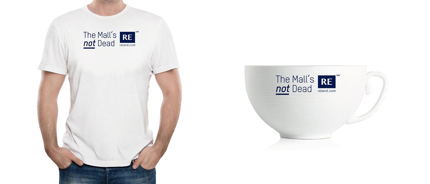 reland.com návrh potlače na tričko a šálku