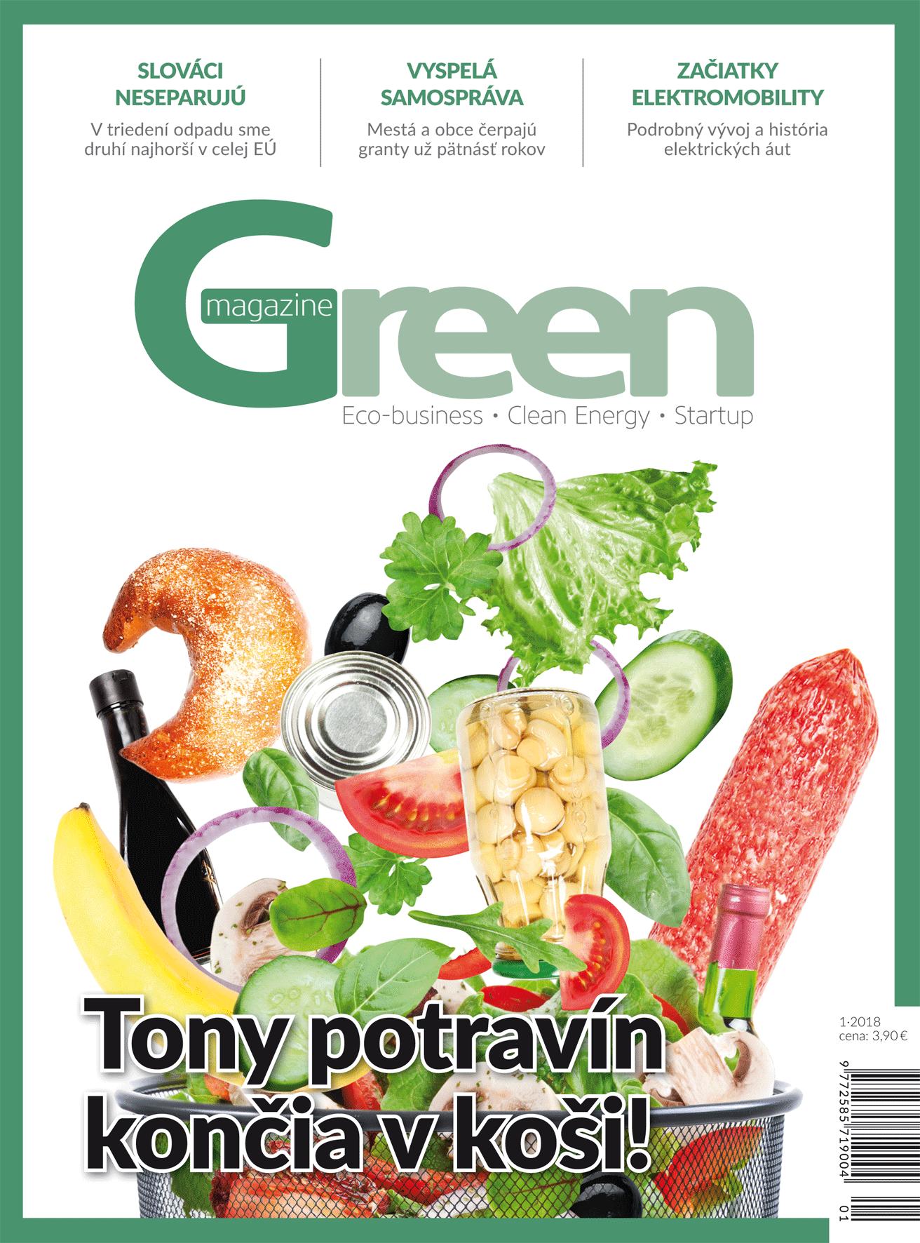 Green Magazine 01, titulka